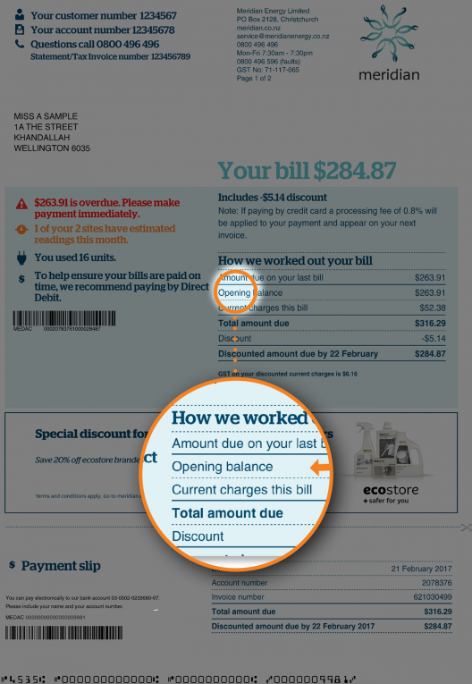 ED 9288 Understanding Your Bill October 2018 no border4