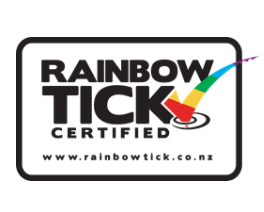 Rainbow Tick transparent